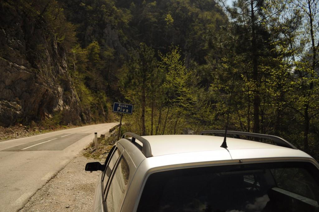 Mit dem Auto nach Montenegro
