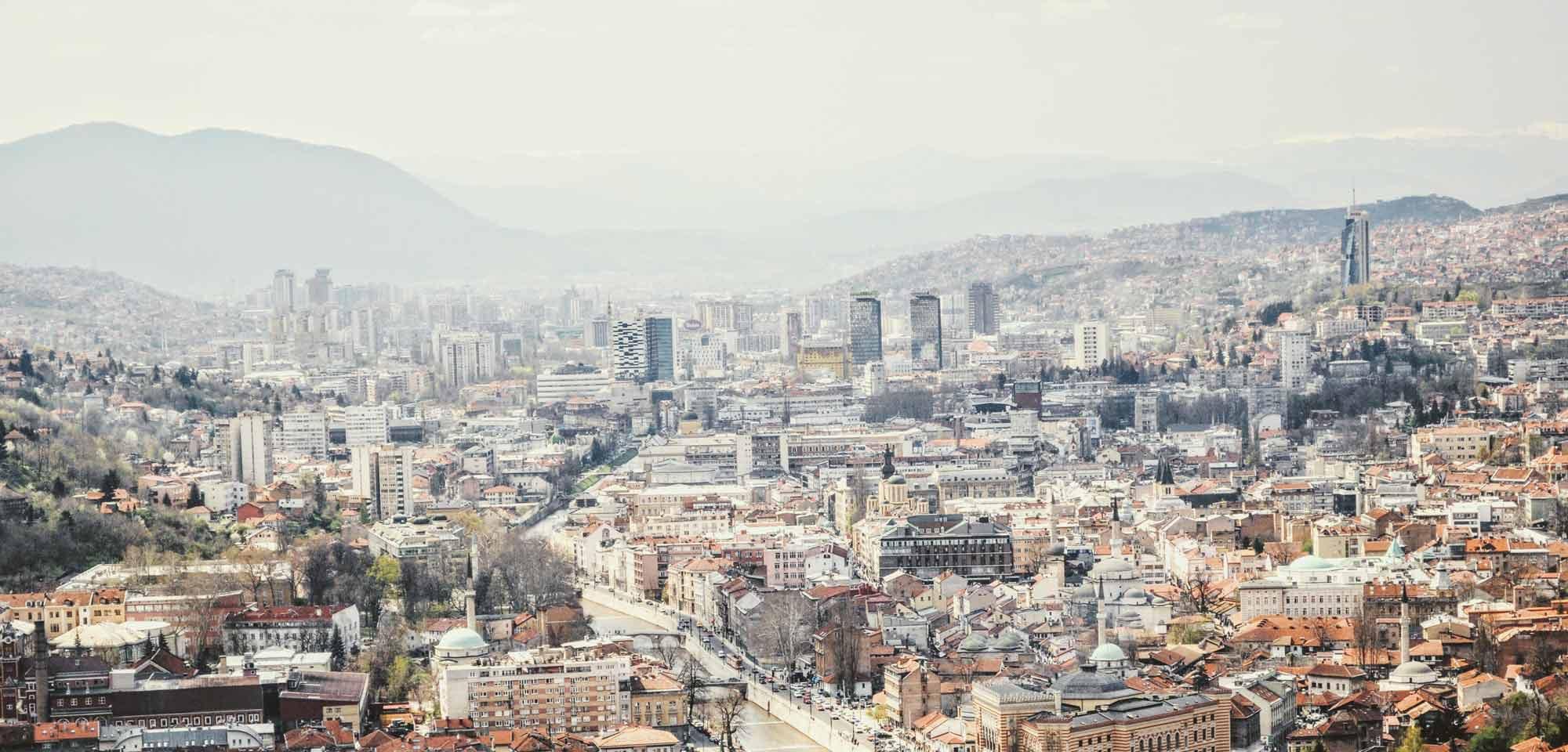 Bijela Tabija - die Weiße Festung von Sarajevo