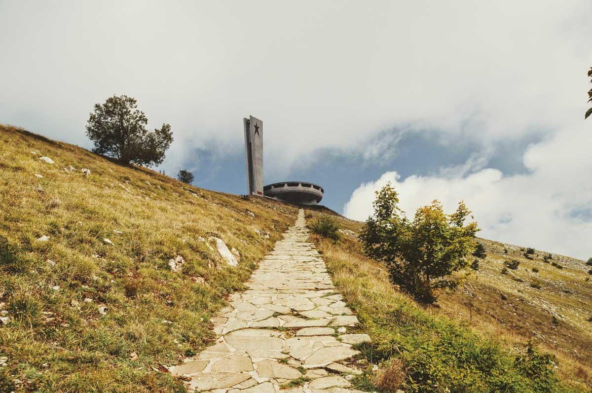 Das Busludscha-Denkmal