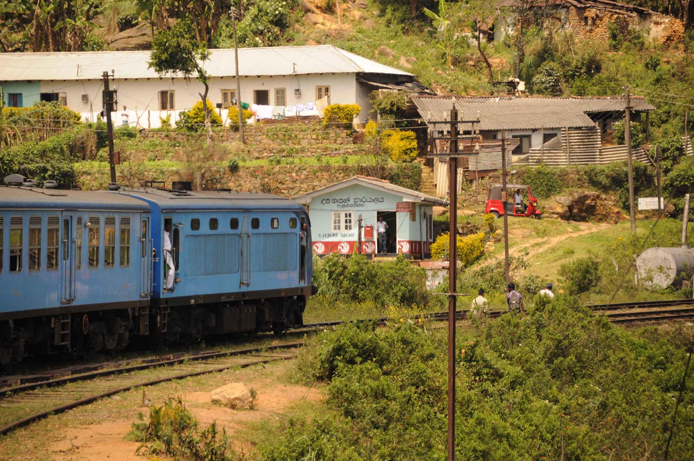 Zugfahren in Sri Lanka ist großartig 2