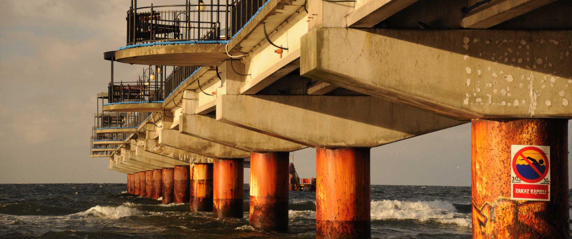 Am Strand von Misdroy in Polen 4