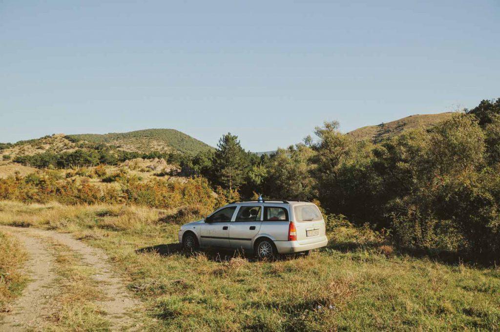 Mit dem Auto durch Europa