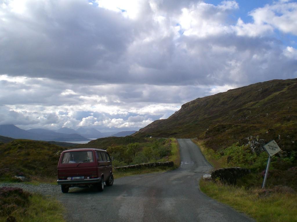 Mit dem Auto von Berlin nach Schottland