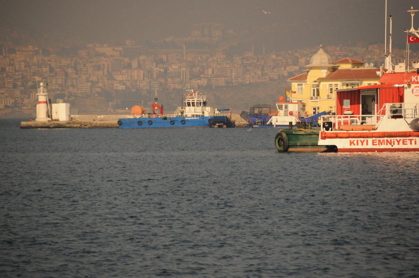 Weihnachten in Izmir in der Türkei