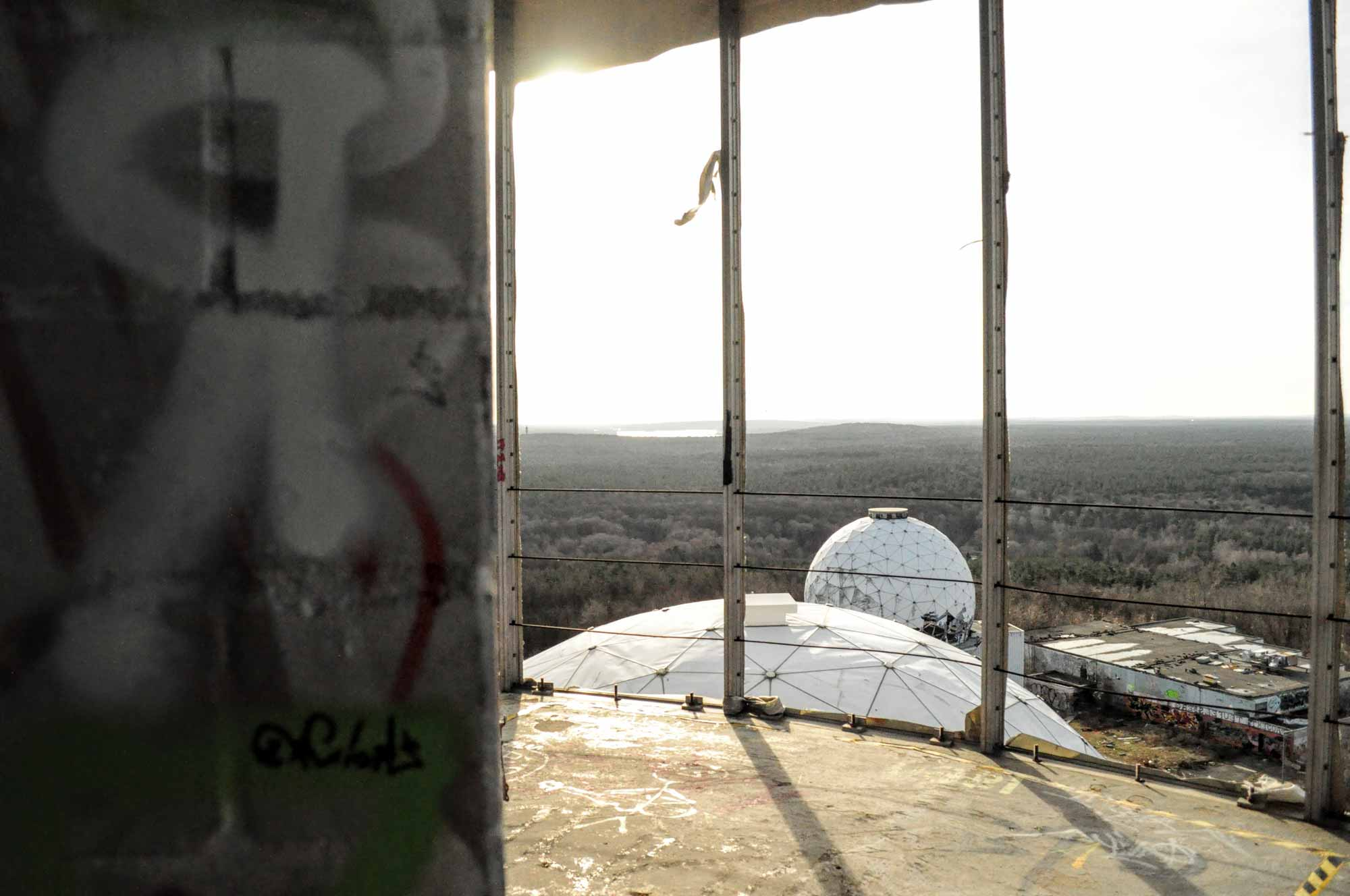 Teufelsberg Berlin - Wandern um die verlassene Abhörstation 1