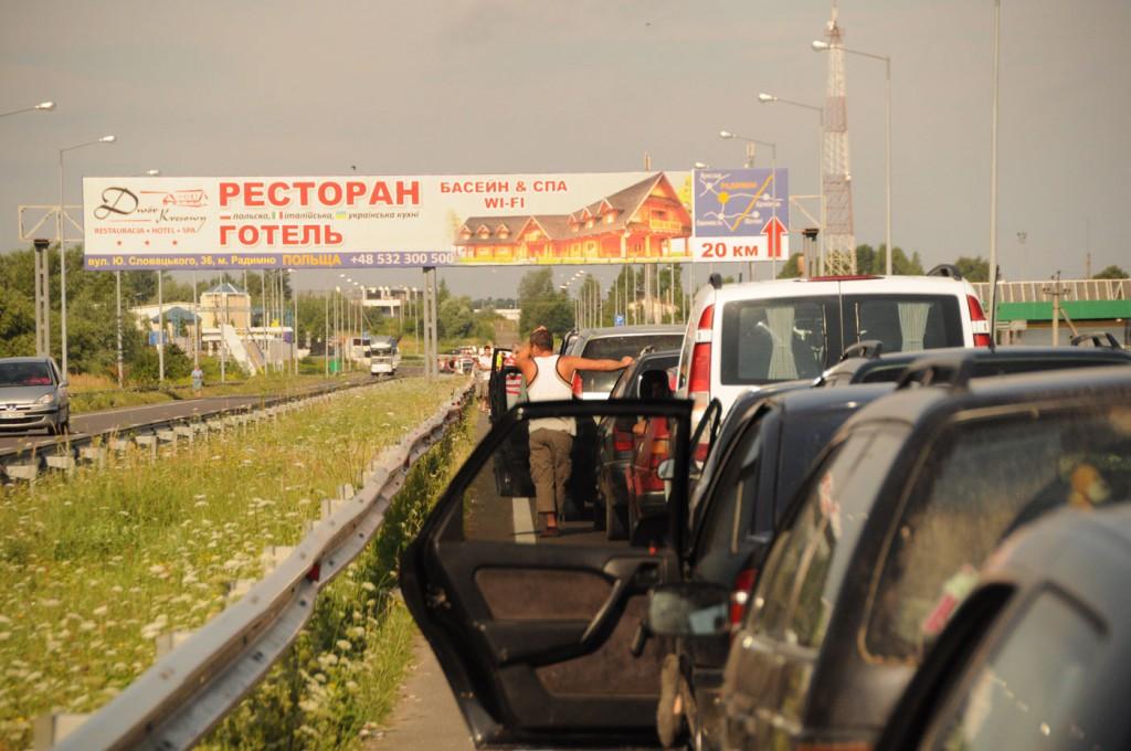 Mit dem Auto in die Ukraine