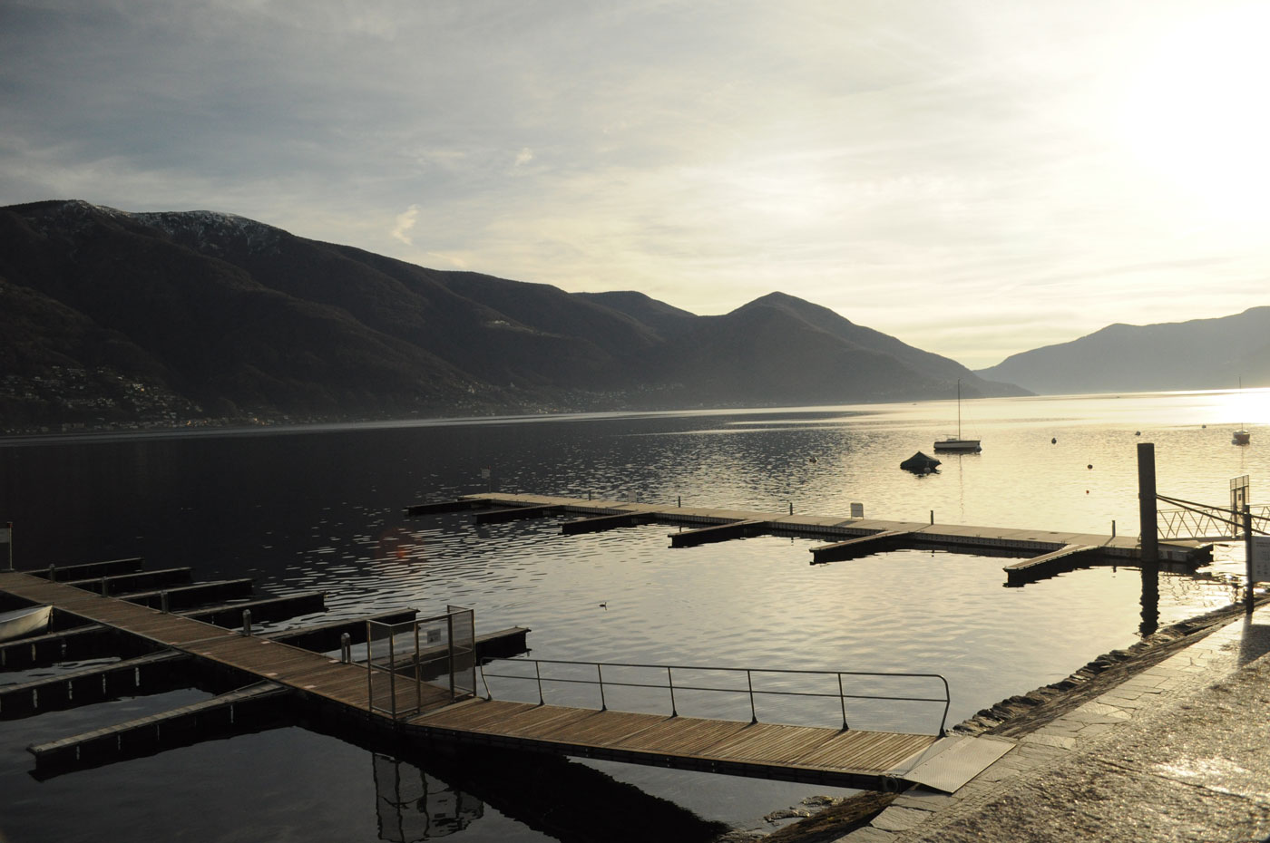 Ascona und Lugano im Winter