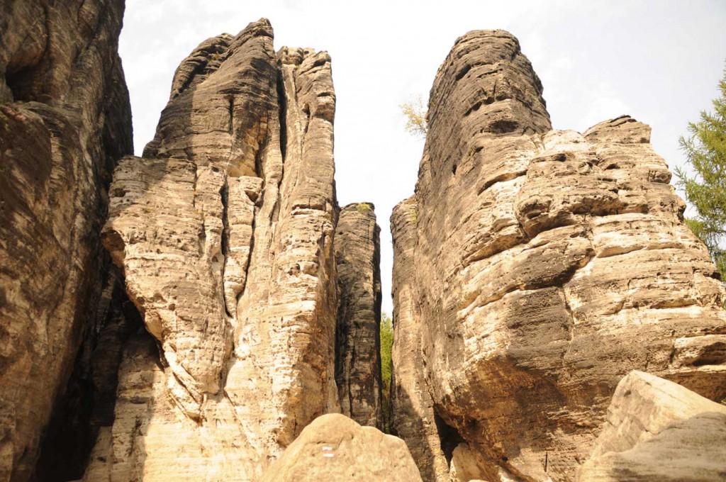 Die Felsenstadt der Tyssaer Wände