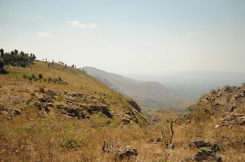 Aussicht in Burundi