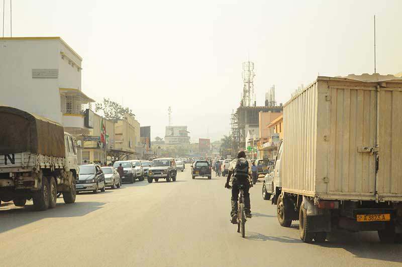Bujumbura in Burundi