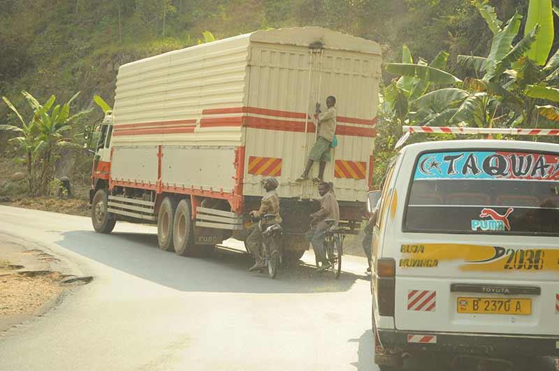 Fahren in Burundi