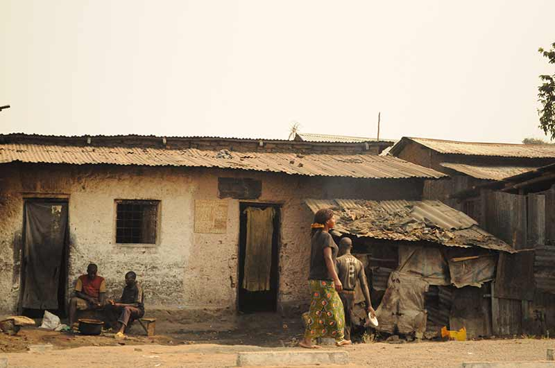 Häuser in Burundi