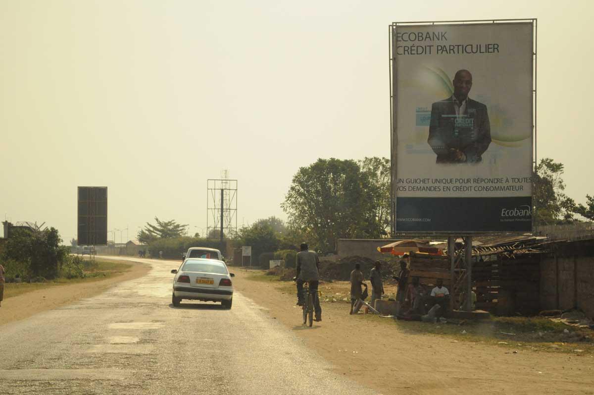 Burundi: Weg zum Tanganjikasee