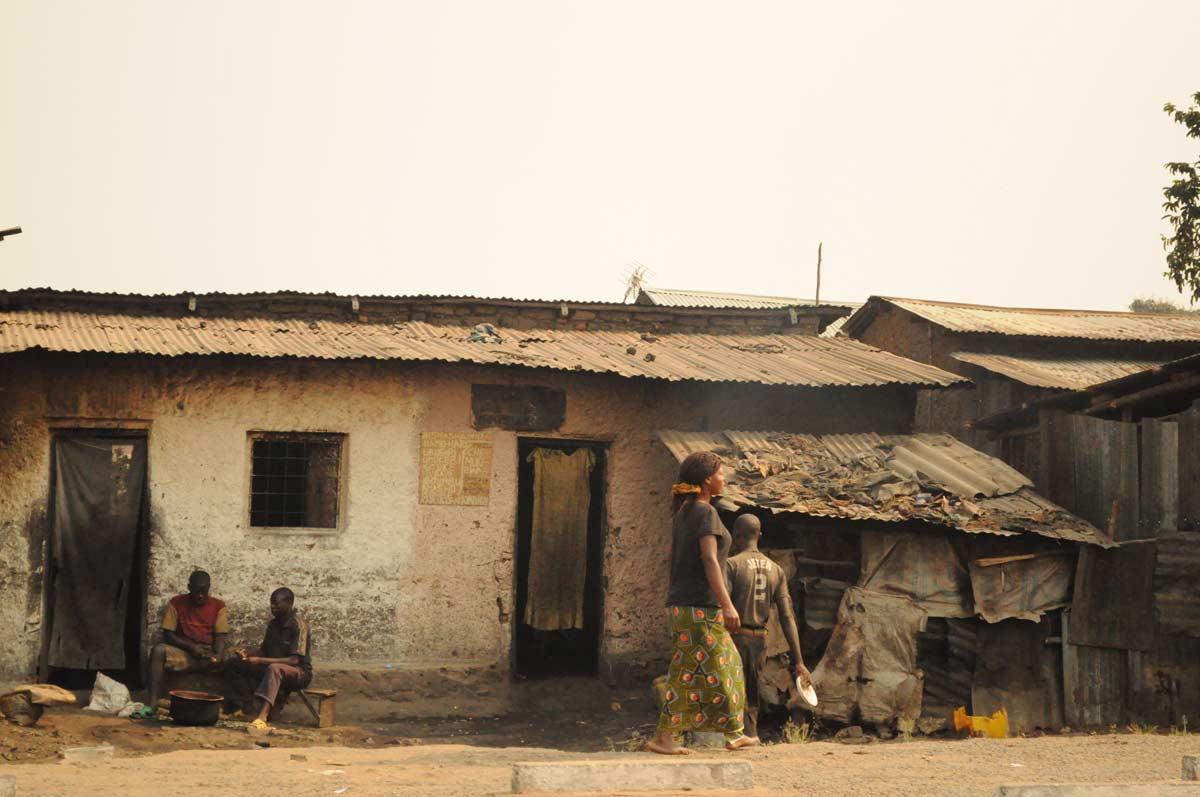 Burundi: Wohngebiet in Bujumbura