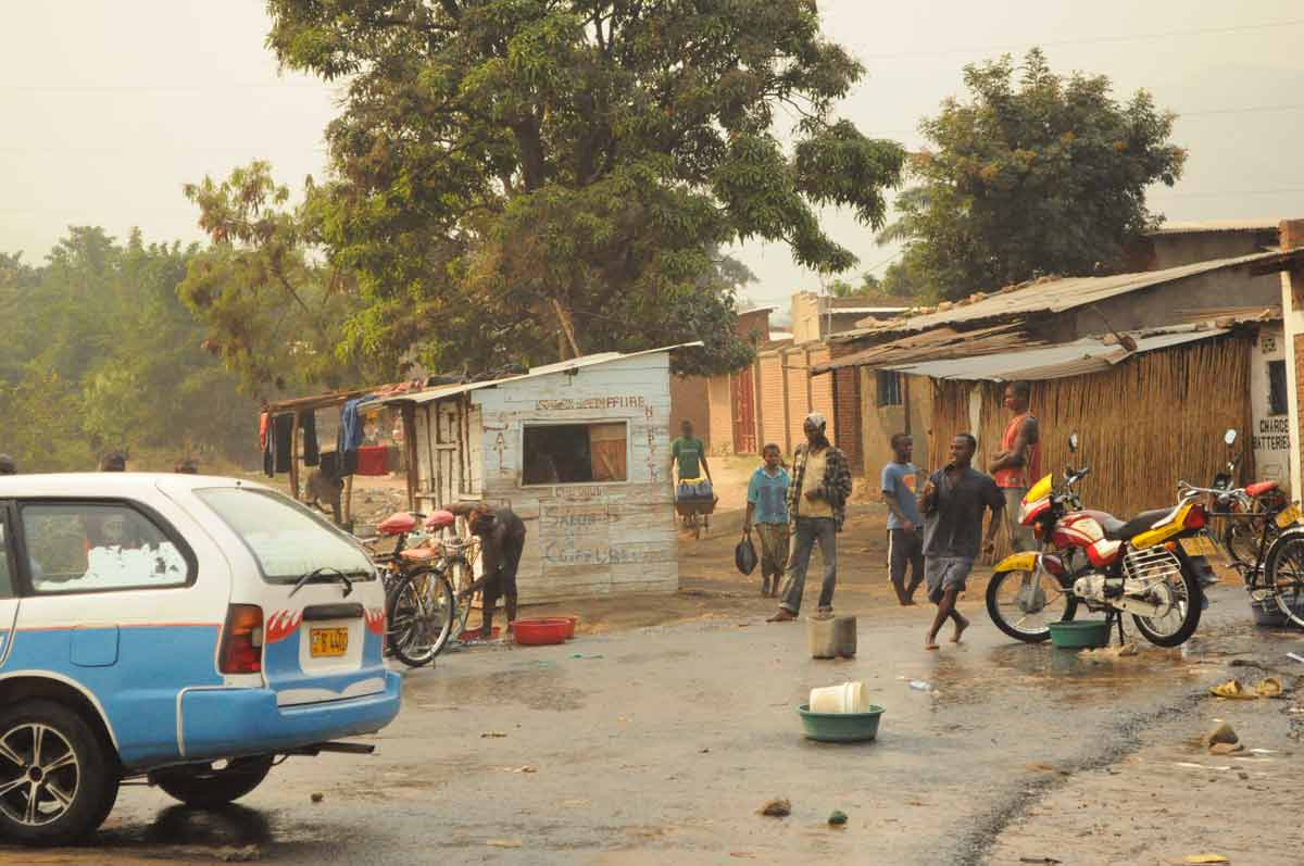Burundi: Straßenszene in Bujumbura