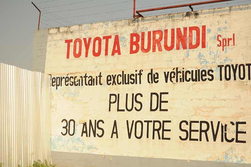 Werkstatt in Burundi