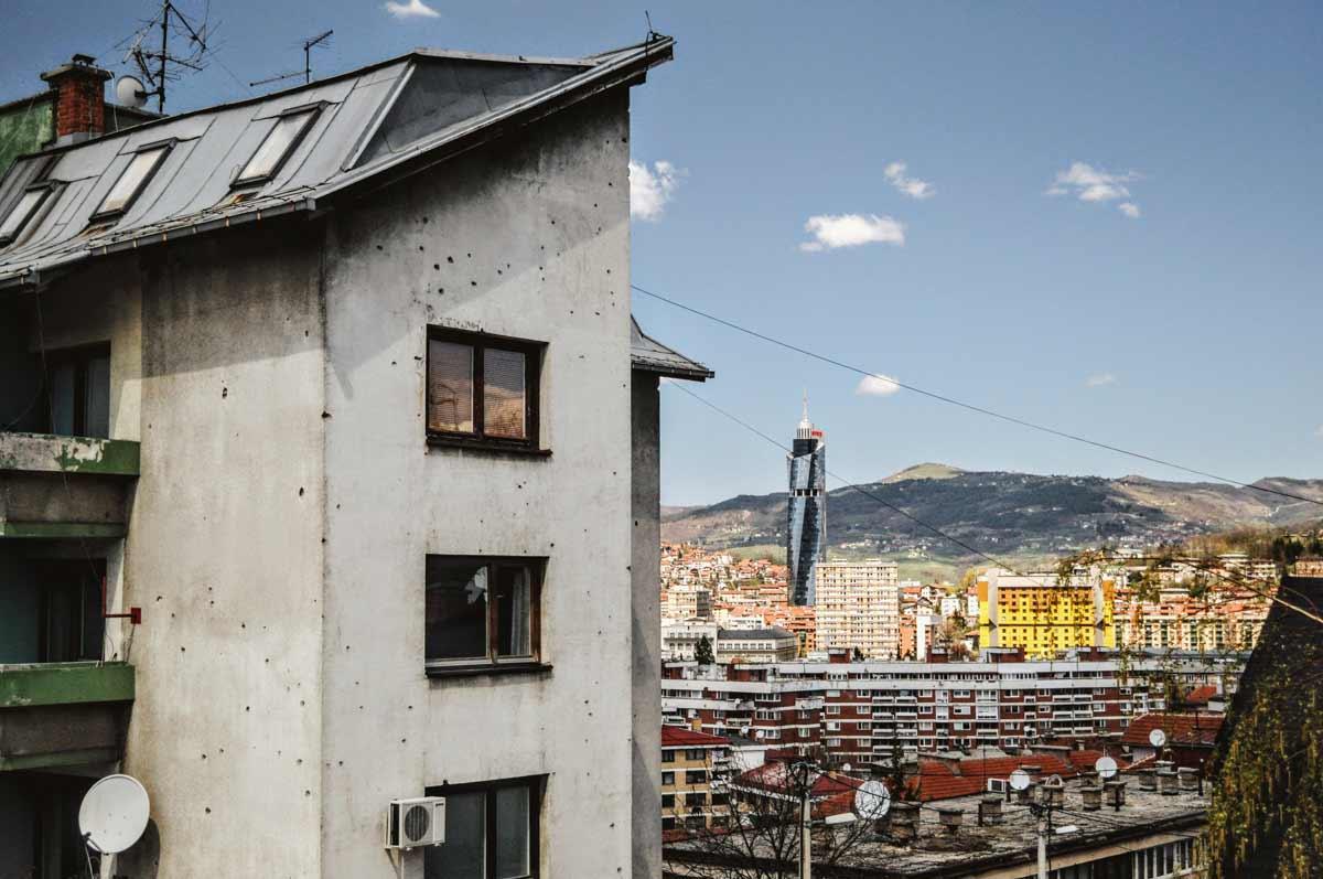 Aussicht über Sarajevo