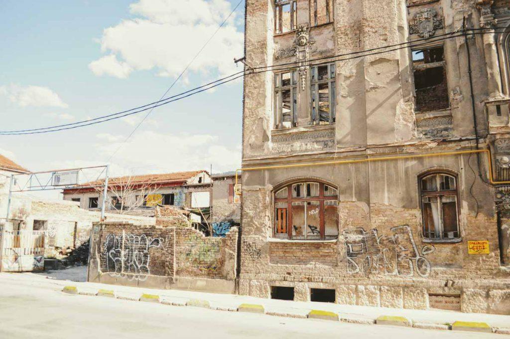 Ruine in Sarajevo