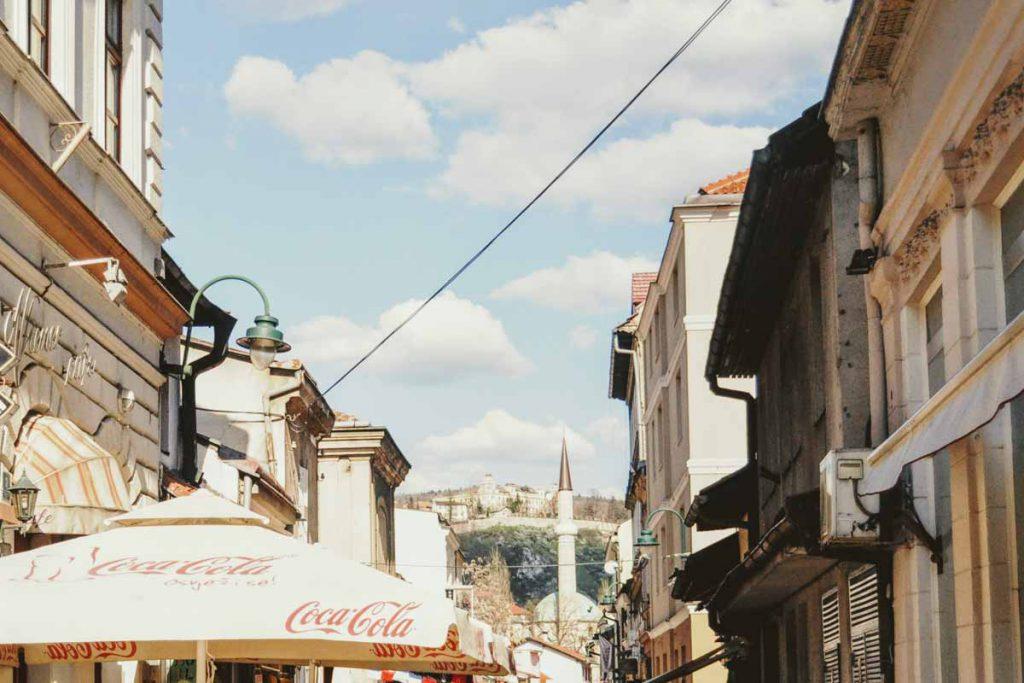 Die Altstadt von Sarajevo
