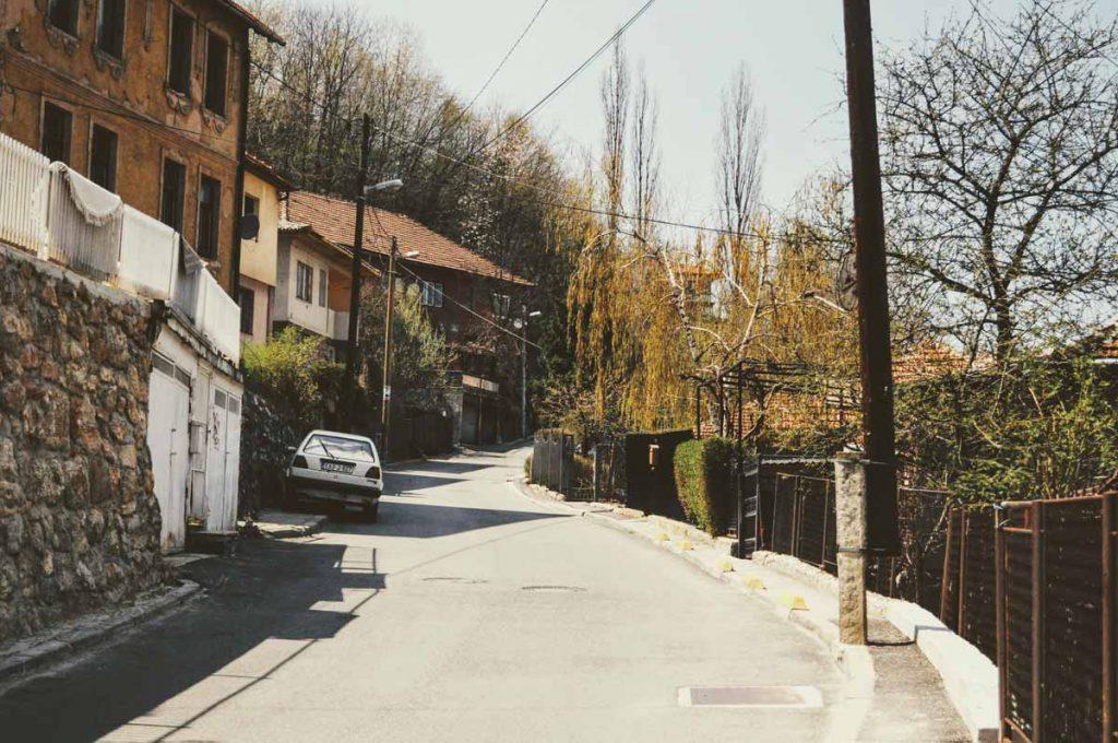 Spaziergang durch Sarajevo