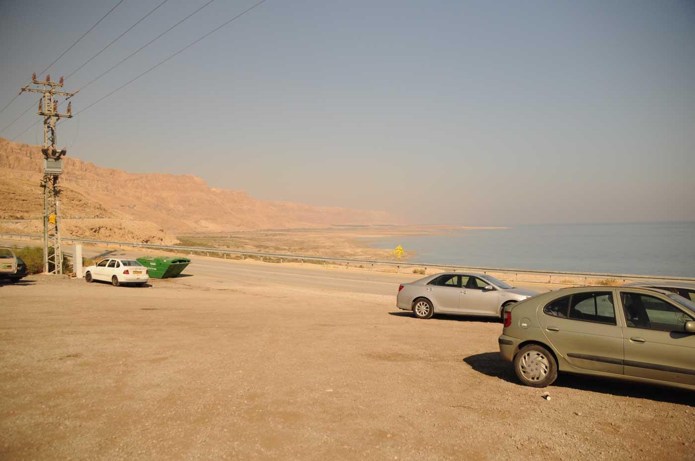 Parkplatz am Toten Meer