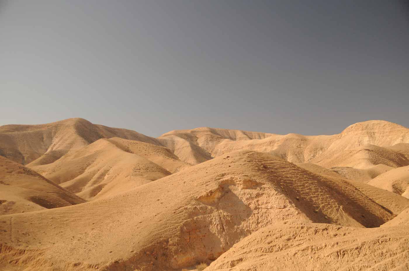 Wüste am Toten Meer