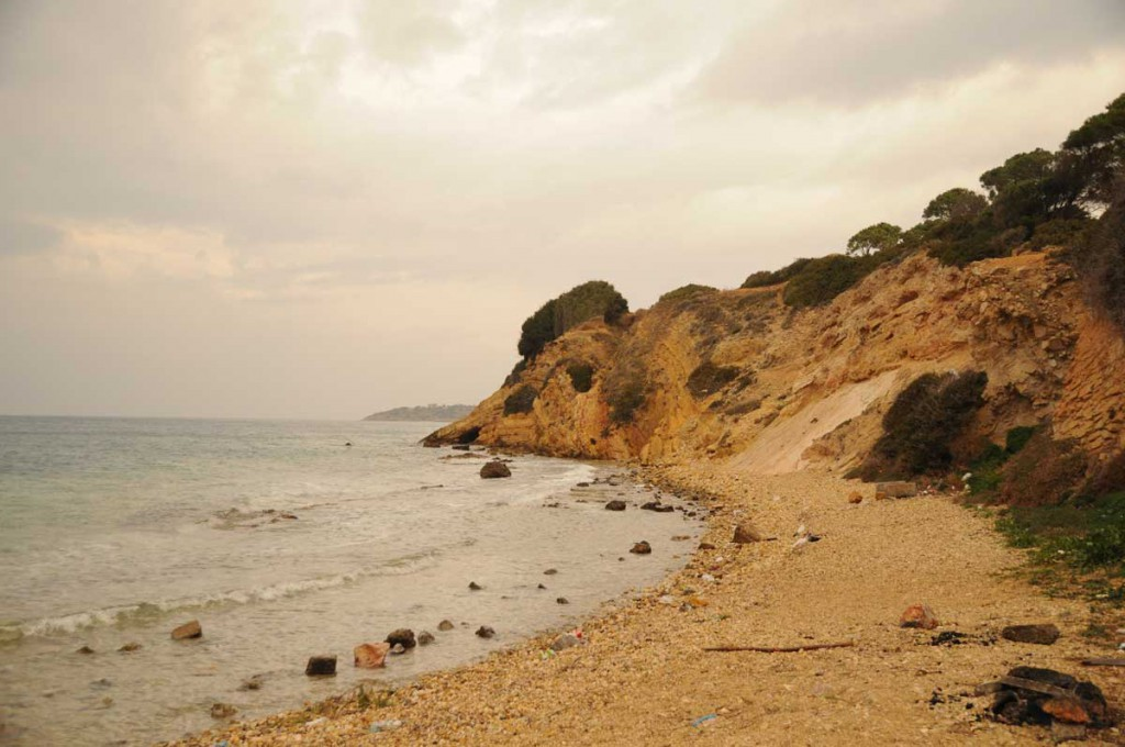 Am Strand in Çeşme