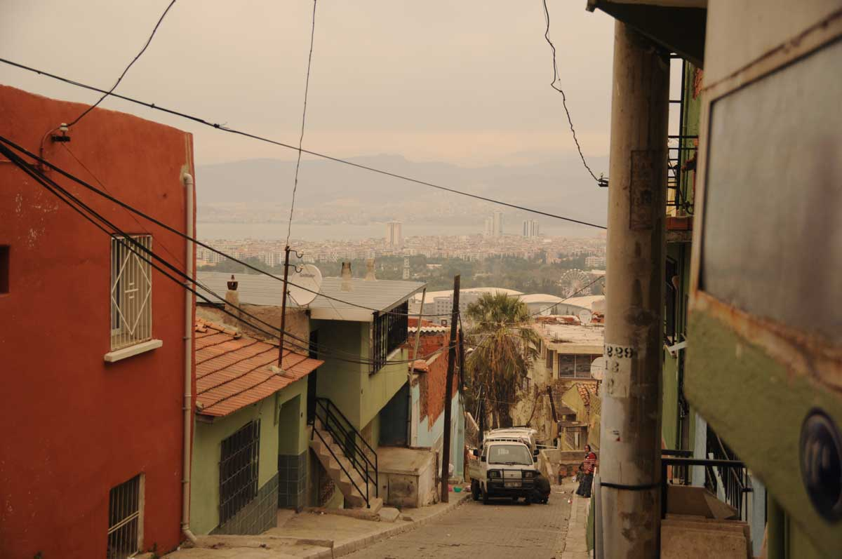 Auf den Hängen über Izmir