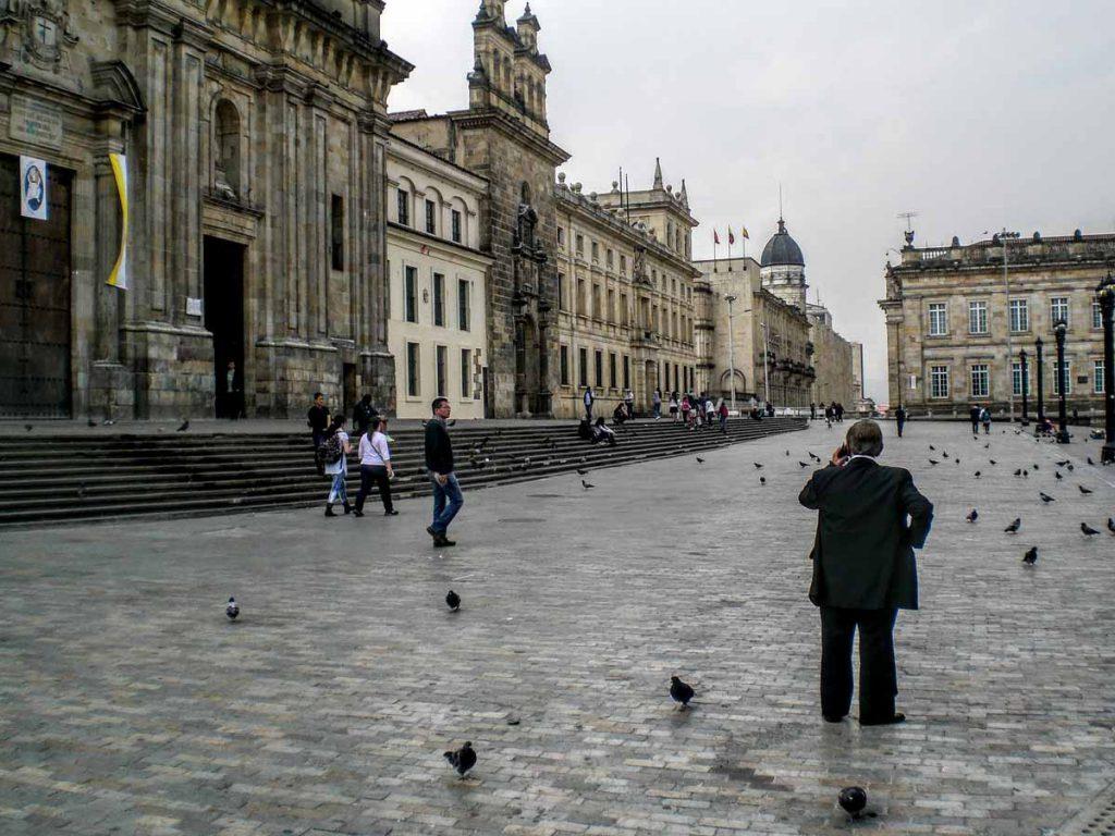 Plaza de Bolívar in Bogotá