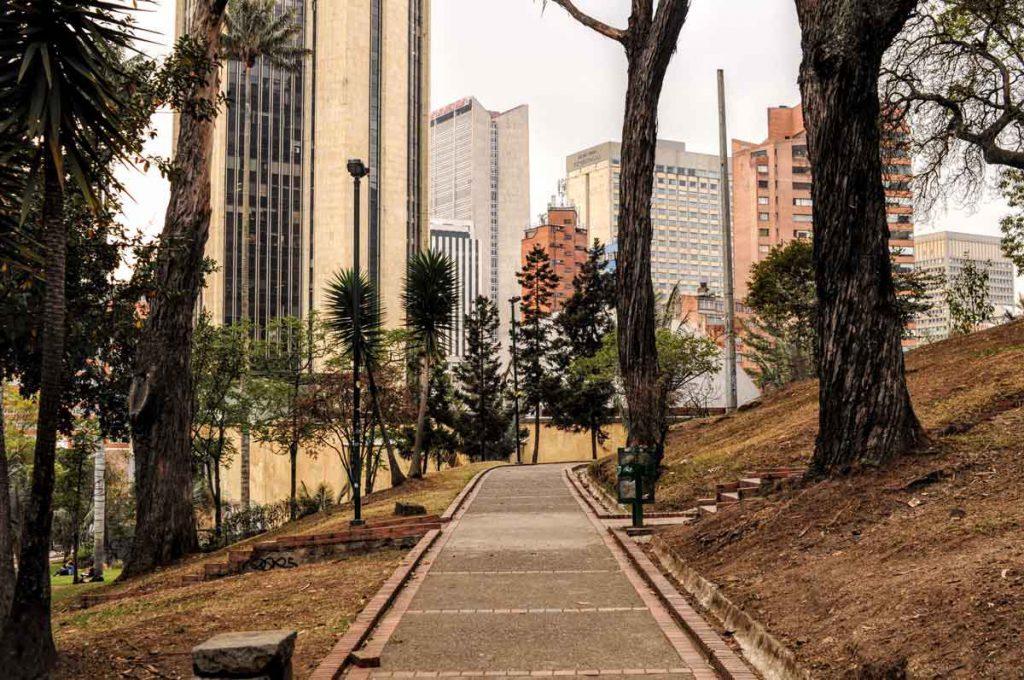 Park in Bogotá