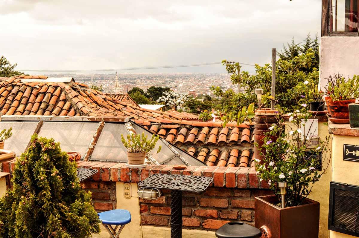 Essen, trinken und schlafen in Bogotá