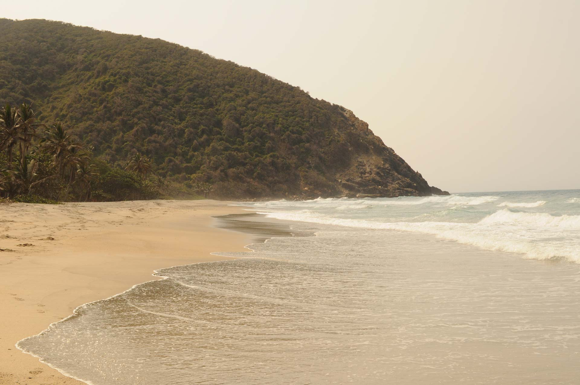 Der Tayrona-Nationalpark in Kolumbien