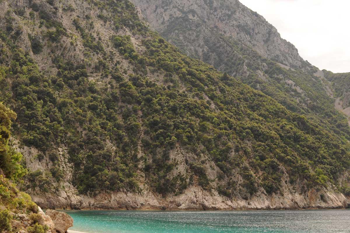 Euböa: Einsame Bucht