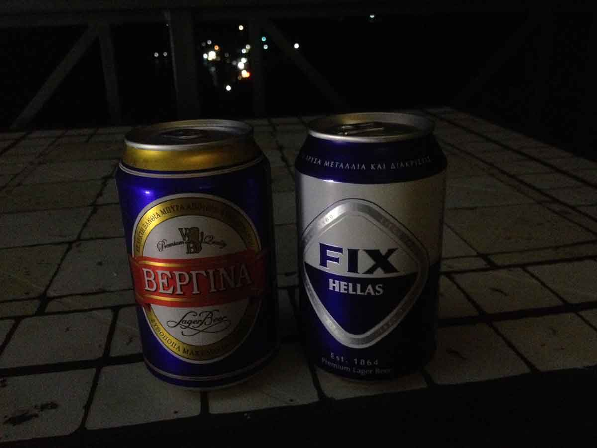 Bier auf Euböa