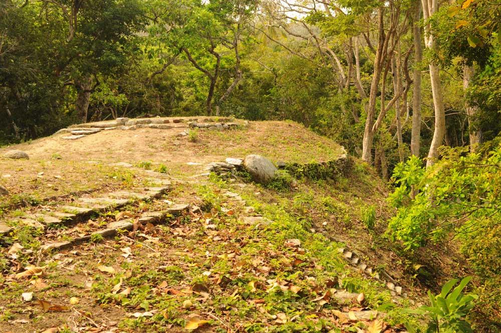 Ruinenstadt im Tayrona-Nationalpark