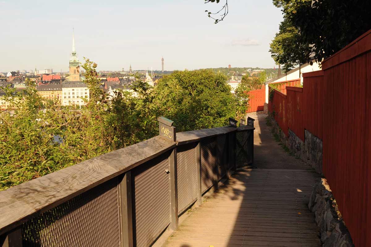 Monteliusvägen in Stockholm