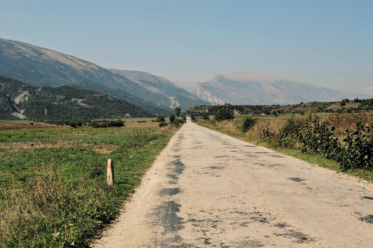 Gjirokastra in Albanien