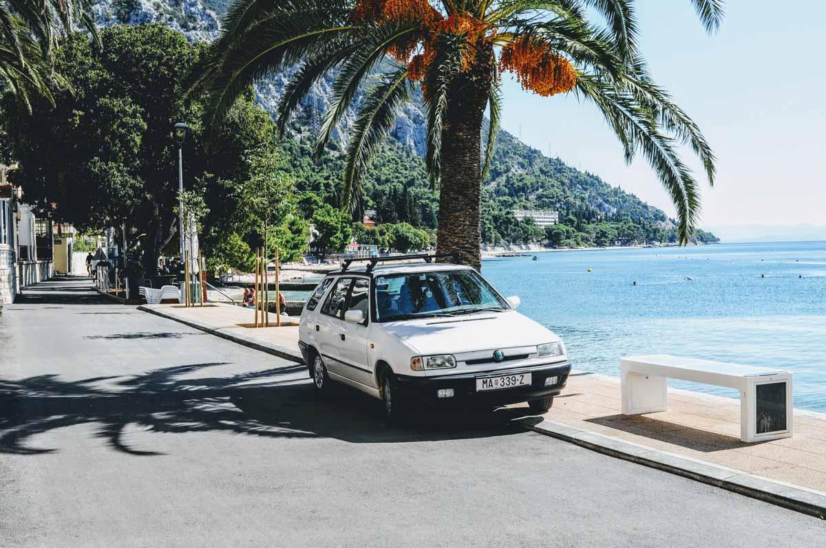 Podaca an der Makarska Riviera
