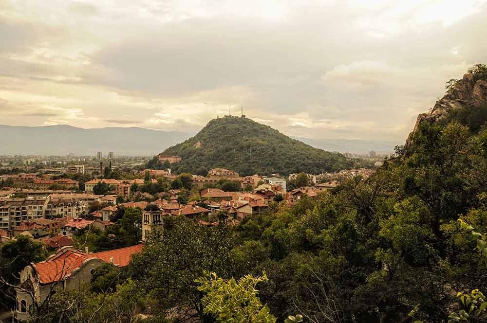 Plowdiw liegt schön in Bulgarien
