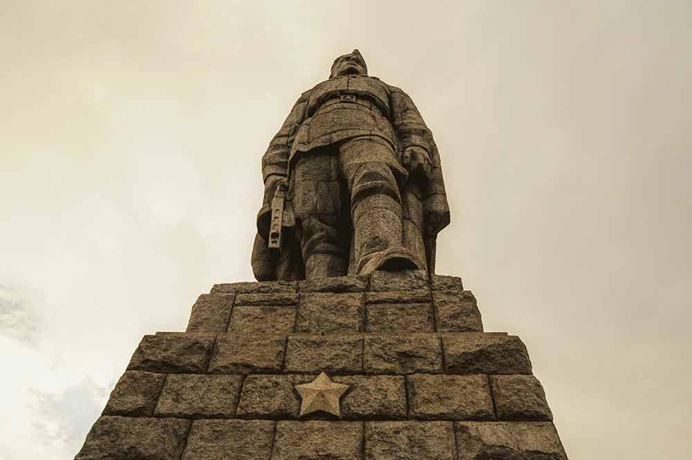 Soldatendenkmal in Bulgarien