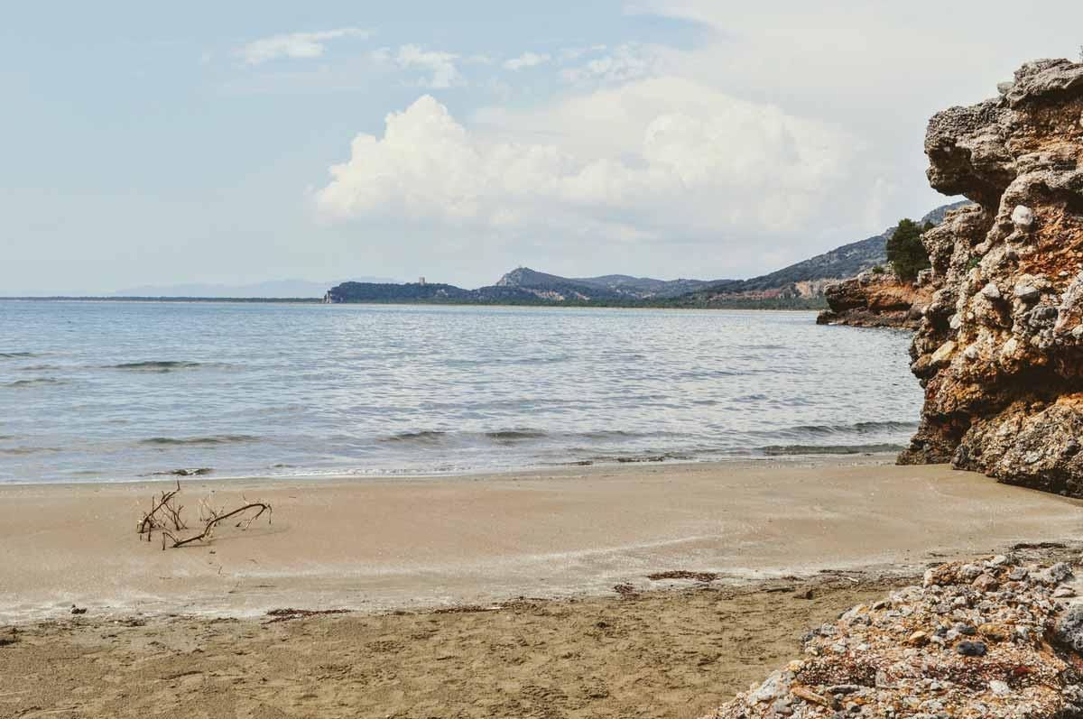 Strand in der Maremma