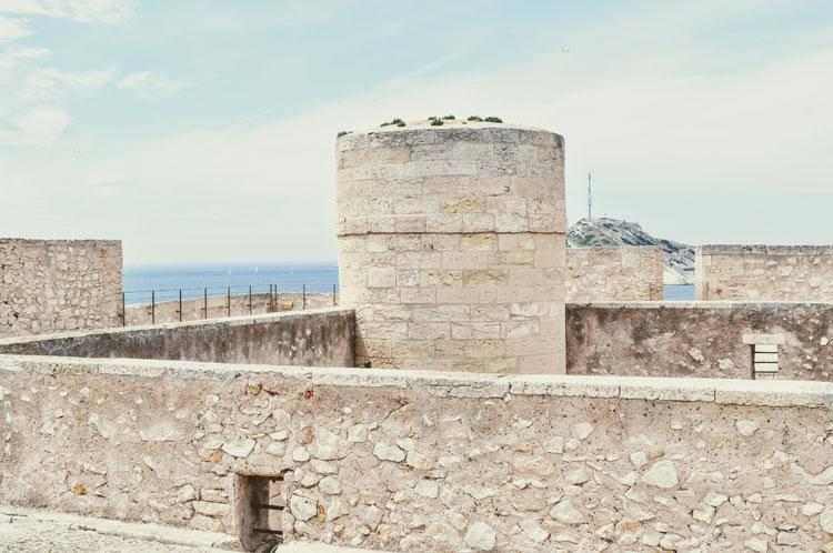Aussicht vom Château d'If