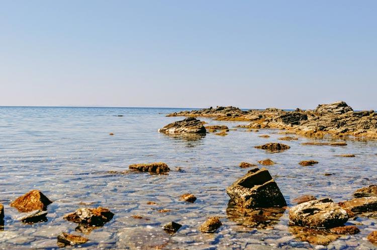 Bucht bei Populonia