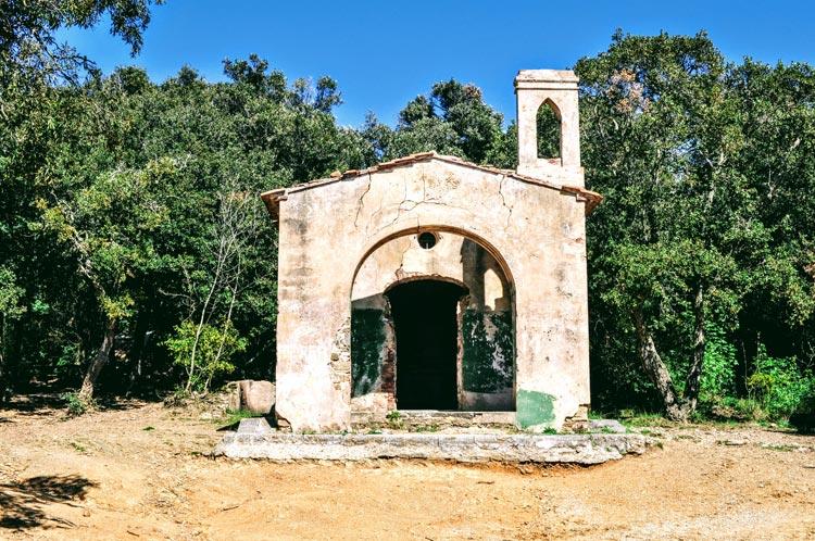 Kapelle bei Populonia