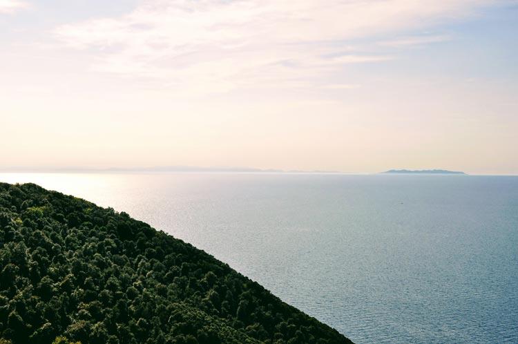 Aussicht von Populonia aus