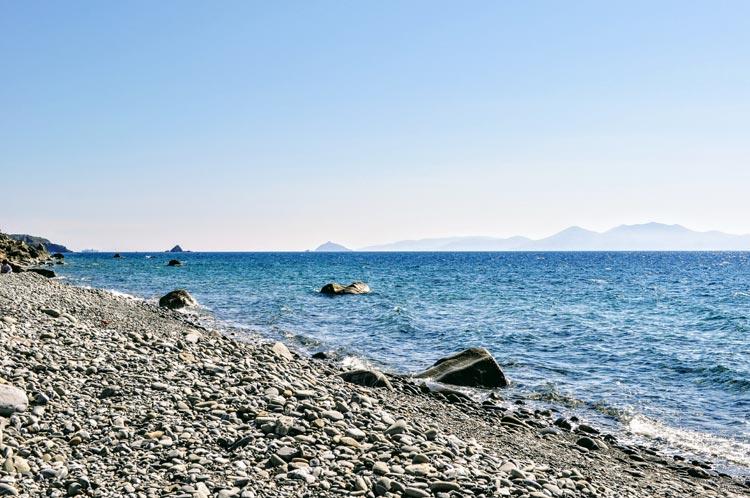 Strand bei Piombino und Populonia