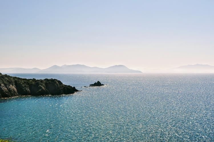 Inseln vor Piombino und Populonia