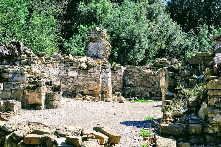 Ruine bei Populonia
