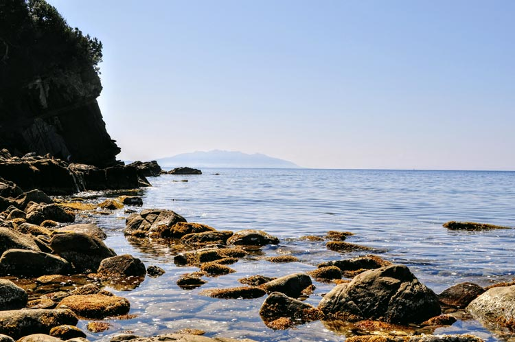 Strand bei Populonia