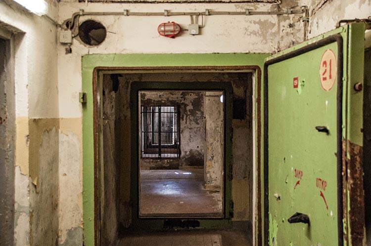 Tür im Zeppelin-Bunker